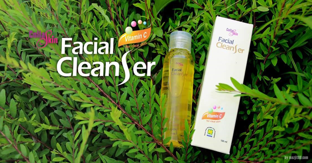 collaskin facial cleanser nasa dengan collagen brennu com