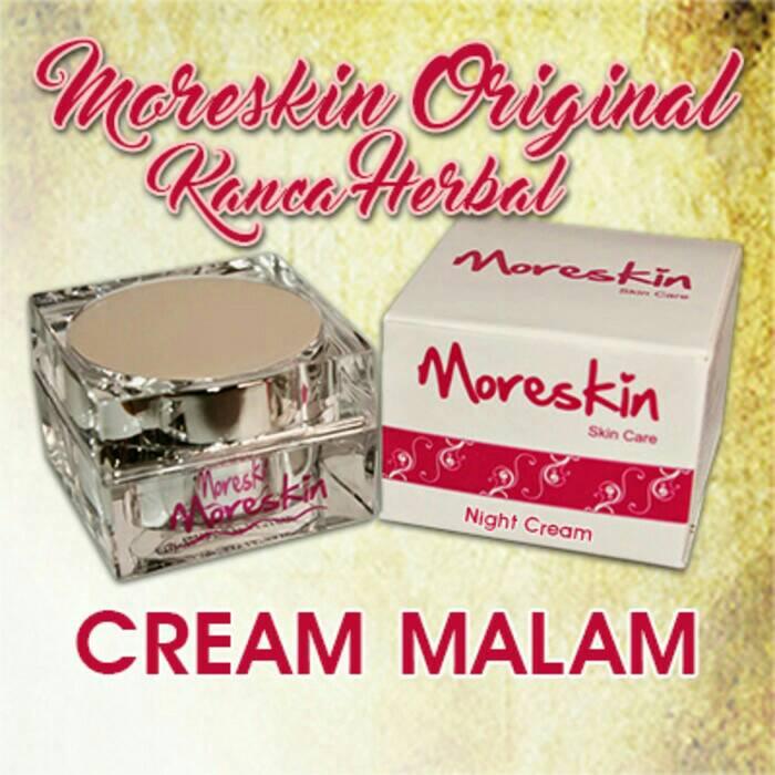 MoreSkin Cream Malam